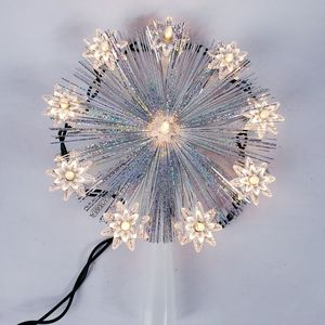 Christmas tree star topper light up vintage style